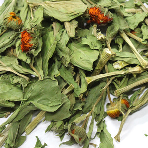 만수국꽃/잎/줄기 50g (Tagetes Patula Flower/Leaf/Stem) 국산
